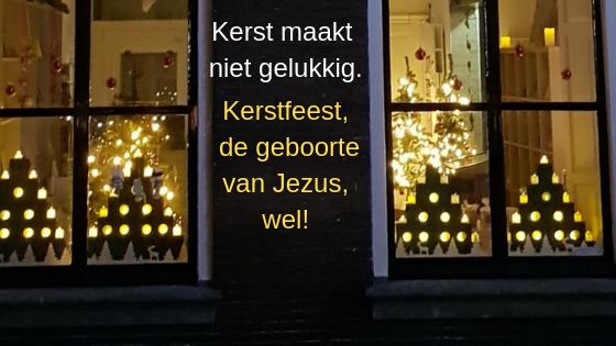 Kerst maakt niet gelukkig.